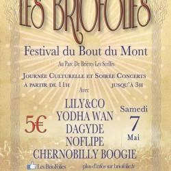 affiche des BrioFolies festival rock essonne 91