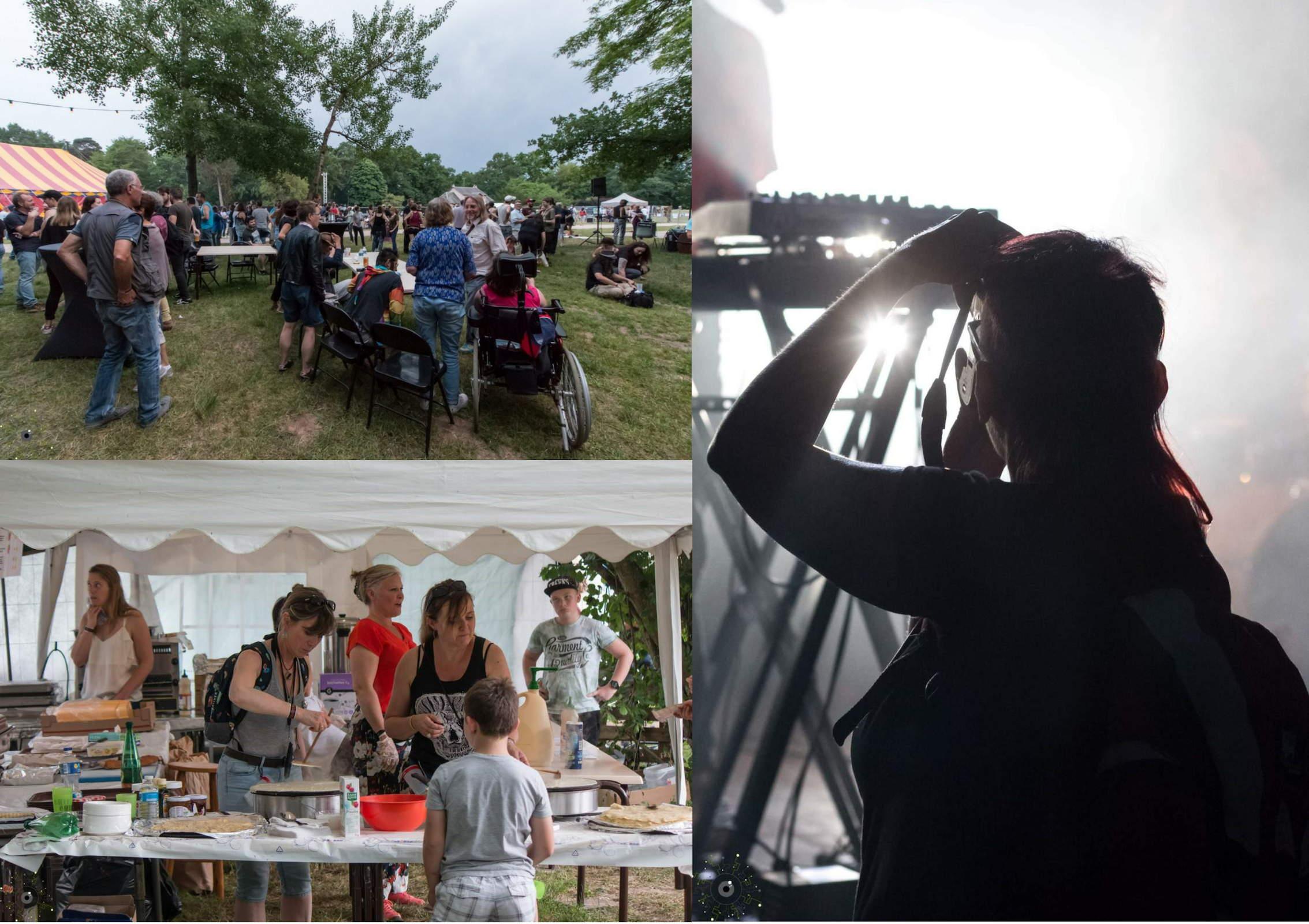 Ambiance BrioFolies 2018 - Festival rock - Brières les Scellés - Essonne 91
